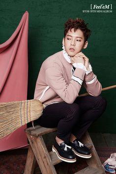BTOB reveal concept teaser image set for 'Feel'eM' comeback Btob Lee Minhyuk, Sungjae Btob, Lee Changsub, Im Hyun Sik, Korean People, Cube Entertainment, K Idols, Pop Group, Teaser