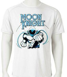 75be53561 Moon Knight Dri Fit graphic T-shirt moisture wicking retro superhero SPF tee  - Athletic
