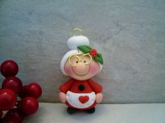 Mrs. Claus - Holiday Ornament