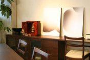 """小型仏壇勾玉。""""MAGATAMA"""" Wooden Jewelry box in Japanese cypress and Hida-shunkei Finish."""
