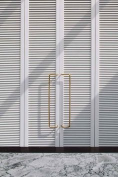 brass beauties on louvers