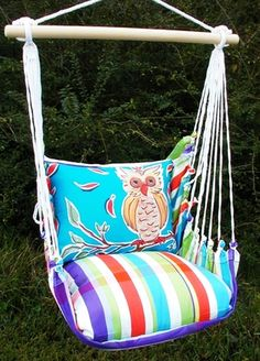 Fine & Dandy Owl Hammock Chair Swing Set only $139.99 at Garden Fun - Hammock Swings