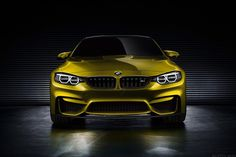 2015 BMW M4 Coupe Concept While very little is known yet about the 2015 BMW M4 Coupe Concept ($TBA) early shots have leaked, and it looks gorgeous (we'll forgive them for the awful metallic yellow color this time).