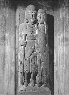 Crusader. Relief from the Abbey of Belval