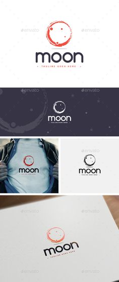 Moon Logo Template - Logo Templates