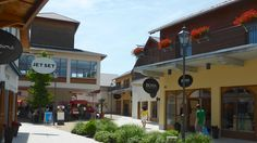 The Landquart Designer Outlet mall in the east of Switzerland offers shoppers bargains and savings on prestigious fashion labels at factory stores. Fashion Labels, Shopping Mall, Switzerland, Outdoor Decor, Zurich, Viajes, Shopping Center