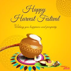 Wishing You a Very Happy #HarvestFestival from All of us At SmartMove2UK Always do your best. What you plant now, you will harvest later. Seasonal and Harvesting festivals are celebrated to mark the harvesting of crops and the change of seasons.  The major seasonal and harvesting festivals that are celebrated in India includes #BasantPanchami #Pongal   #MakarSankranti    #Lohri   #Onam   #Baisakhi    #BhogaliBihu