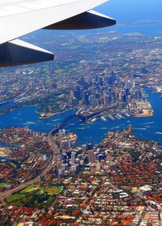 Sunday Snapshot: Birds Eye View Over Sydney Harbour Sydney Australia, Australia Travel, Places To Travel, Places To Visit, Sydney City, Land Of Oz, Birds Eye View, Aerial View, Nature Pictures