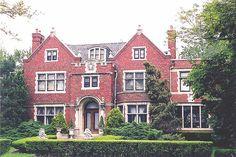 Frederick Du Charme House, Burns Avenue, Indian Village, Detroit by pinehurst19475, via Flickr