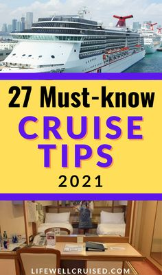 Planning a cruise in 2021? Here are 27 cruise tips and hacks for your cruise vacation, that will be useful and helpful! #cruisetips #cruise #cruisehacks