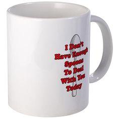 Not Enough Spoons! Mugs on CafePress.com