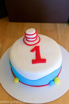 Pastry Shells: Dr. Suess Cakes