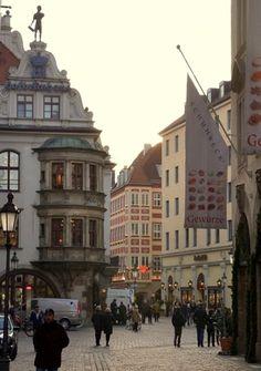 Altstadt (Old Town) Munich, Bavaria, Germany