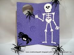 Creations by Patti: 2009 Halloween  punch art link with directions and other halloween projects