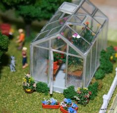 1/144 scale greenhouse