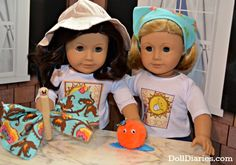 Camp Doll Diaries – Quick Crafts with Ruthie and Kit