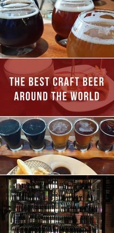 The best craft beer around the world #beer #breweries #craftbeer #drinking #bars #brewing #beerlover  #beergeek