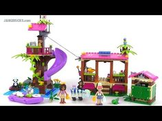 LEGO Friends 41038 Jungle Rescue Base review on YouTube...