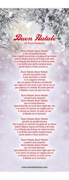 Buon Natale Perche Sia Quello Buono.7 Best Poesia Natale Images Christmas Time Italian Language Learning Xmas