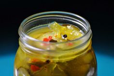 Easy Bread and Butter Pickles from Food.com:   These pickles are so much better tasting then the kind you buy in a jar. Fresh from the stove and chilled in the refrigerator to your table for your summer evening barbeque. Prep time does not include chill time.