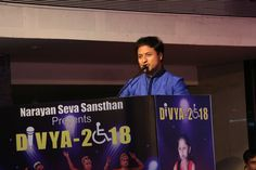 In acknowledgment of the noble purpose,the Global President of #NarayanSevaSansthan; Mr. Prashant Agarwal gave benediction to participants & the guests He extended his warm wishes to the contestants & uplifted the dynamism of our differently able runway stars #Divya2018 #Divyangfashionshow #SuratDiaries #narayansevasansthan