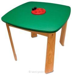 I´M Toy, Kindertisch Marienkäfer, Holztisch mit gerundeten Ecken | 107428 / EAN:8850714420210