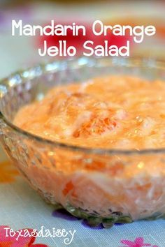 Recipe for mandarin orange jello salad Yummy light, fruity dish that is sure to please your Easter Crowd (fruit dishes ideas) Jello Fruit Salads, Orange Jello Salads, Dessert Salads, Fruit Salad Recipes, Fruit Dishes, Fruit Snacks, Food Dishes, Fruit Party, Jello With Fruit