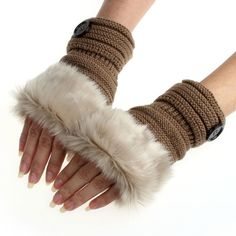 Amazing+Beautiful+Knitted+Faux+Fur+Women+Gloves.  Perfect+for+those+cool+to+cold+days+coming+our+way.  Get+Them+Now!+They+Will+Not+Last+Long+at+This+Price.  Wear+it+Beautiful  MonkeyPie9;)