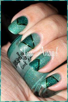 Dandy Nails Look Around & Cult Nails Toxic Seaweed