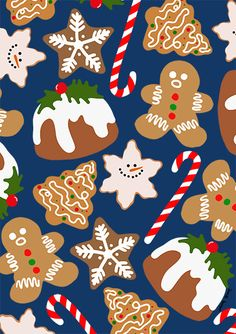 Graphic - Janelle Burger York Restaurants, Momofuku, Freelance Illustrator, Gingerbread Cookies, Drawings, Illustration, Pattern, Gingerbread Cupcakes, Patterns