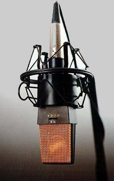 When I start getting together my own equipment, this will be one of the first microphones I invest in. The alpha, the omega, the AKG Studio Equipment, Studio Gear, Dj Equipment, Microphone Studio, Vintage Microphone, Sound Studio, Home Studio Music, Radios, Logos Retro