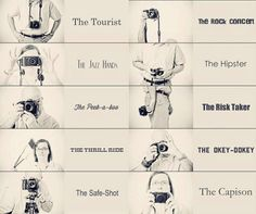 Which one are you? //Peek-a-boo  me hipster/risk taker