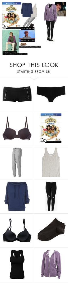 """""""me in 'the suite life on deck'"""" by j-j-fandoms ❤ liked on Polyvore featuring Cache Coeur, D&G, b.tempt'd by Wacoal, New Balance, Velvet, Free People, Hudson Jeans, Aerie, Wolford and Alternative"""