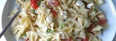Caprese Pasta Salad, This sounds delicious on a hot summer day with something grilled ; )