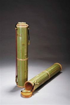 ORIENTAL WHISPERS ✧ Bamboo containers