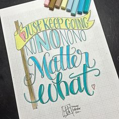 Lettering practice using today's prompt. Doodle Lettering, Hand Lettering Quotes, Creative Lettering, Lettering Styles, Brush Lettering, Calligraphy Qoutes, Modern Calligraphy, Math Books, Writing Styles