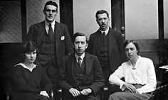 Guardian Weekly staff in 1921