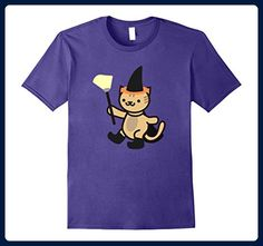 Mens Halloween Spooky Cat Witch XL Purple - Holiday and seasonal shirts (*Amazon Partner-Link)