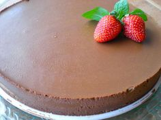 Tarta de chocolate facil
