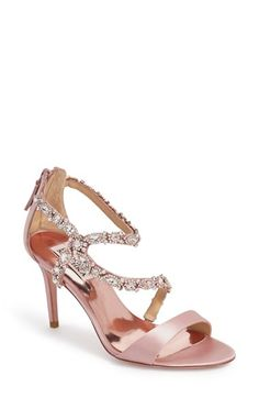 Badgley Mischka 'Caress' Evening Sandal (Women) available at #Nordstrom
