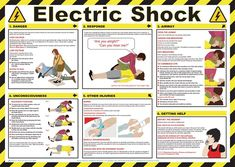 In the event someone is electrocuted follow these steps