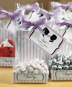 Wedding Favors Reception Decor Ribbons Sweets Celebstylewed