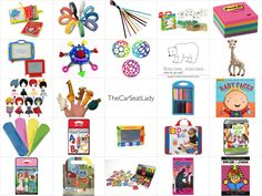 The Car Seat Lady's Favorite Toys for Kids in Cars and Planes