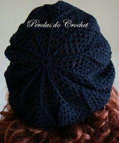 * Pérolas do Crochet: Boina de Croche - Burguesinha