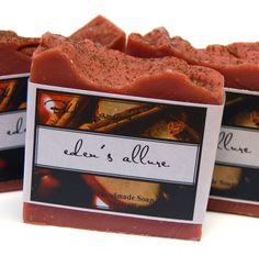 Homemade Soap for Sale   Moving SALE - Spiced Apple Cider Soap - EDEN'S ALLURE Handmade Soap ...