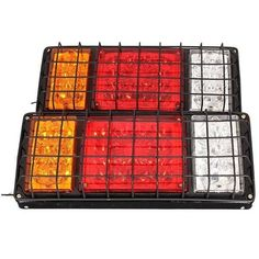 Pair 32LED Stop Rear Tail Indicator Lamps Lights Trailer Truck. Pair 32led Stop Rear Tail Indicator Lamps Lights Trailer Truck    description:  32 Leds In Each Light,64 Leds In A Pair.  waterproof, Shock And Vibration Resistant.  multifunctional Function Including Stop, Tail, Indicator, Reverse.    specification:  voltage: 12v/24v  cable Length: Approx 180mm  mounting Bolts Distance: 120mm  size: 345x140x30mm(length X Width X Height)      fitment:  fit For Trailers, Trucks, Utes, ,boat,,vans…
