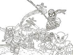lego batman superheroes coloring pages coloring pages