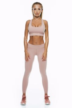 Dusty Pink Leggings - Saski Collection