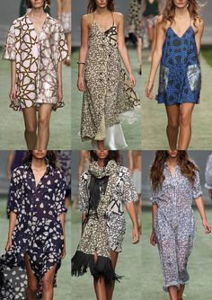 Topshop Unique London Fashion Week   Spring/Summer 2014   Print Highlights   Part 2