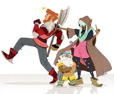chaotic gay, evayoart: I love the Adventure Zone so much Character Art, Character Design, Character Reference, Mcelroy Brothers, The Zone, The Adventure Zone, Dungeons And Dragons, Have Time, Nerd